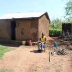 The Water Project: Kalenda A Community, Webo Simali Spring -  Ms Roselyn Malamba At Her Home