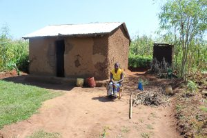 The Water Project:  Ms Roselyn Malamba At Her Home