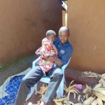 The Water Project: Musiachi Community, Mutuli Spring -  Father And His Child