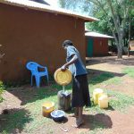 The Water Project: Musiachi Community, Mutuli Spring -  Water Containers