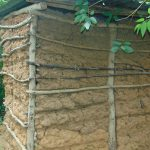 The Water Project: Mubinga Community, Mulutondo Spring -  A Latrine With Mud Walls