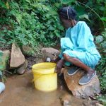 The Water Project: Mubinga Community, Mulutondo Spring -  At The Spring