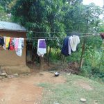 The Water Project: Mubinga Community, Mulutondo Spring -  Clothes Drying