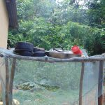 The Water Project: Mubinga Community, Mulutondo Spring -  Dishrack