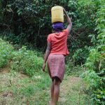 The Water Project: Mubinga Community, Mulutondo Spring -  Walking With Water