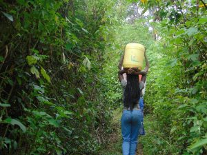 The Water Project:  Young Girl Carries Water