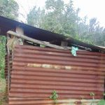 The Water Project: Mubinga Community, Mulutondo Spring -  Kitchen Structure