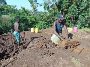 The Water Project:  Brickmaking