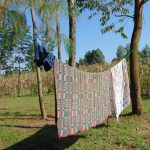 The Water Project: Maondo Community, Ambundo Spring -  Clothesline