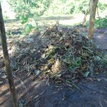 The Water Project: Maondo Community, Ambundo Spring -  Compost Pit