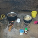 The Water Project: Maondo Community, Ambundo Spring -  Cooking Area