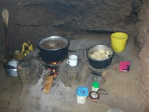 The Water Project:  Cooking Area