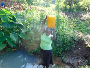 The Water Project:  Hauling Container With Water