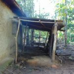 The Water Project: Maondo Community, Ambundo Spring -  Livestock Pen