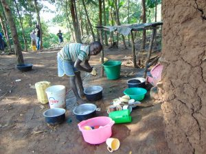 The Water Project:  Washing Dishes