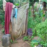 The Water Project: Rosterman Community, Lishenga Spring -  Bathroom