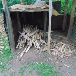 The Water Project: Rosterman Community, Lishenga Spring -  Firewood Store