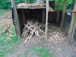 The Water Project:  Firewood Store