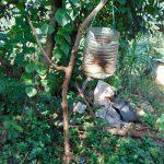 The Water Project: Rosterman Community, Lishenga Spring -  Handwashing Station