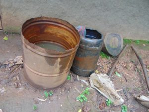 The Water Project:  Rainwater Catchment Drums