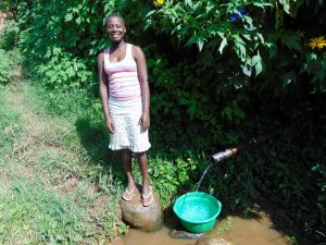 The Water Project:  Waiting For Water At The Spring