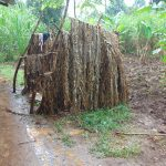 The Water Project: Jivovoli Community, Magumba Spring -  Bathing Shelter