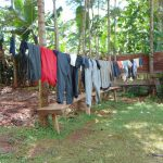 The Water Project: Jivovoli Community, Magumba Spring -  Clothesline