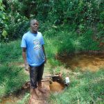 The Water Project: Jivovoli Community, Magumba Spring -  Josphat Amugata