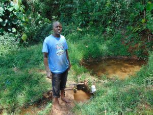 The Water Project:  Josphat Amugata