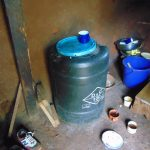 The Water Project: Jivovoli Community, Magumba Spring -  Water Storage Containers