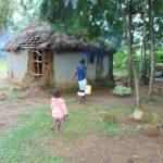 The Water Project: Buyangu Community, Mukhola Spring -  Bringing Water Home