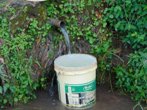 The Water Project:  Bucket Fills At The Spring