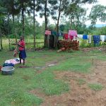 The Water Project: Buyangu Community, Mukhola Spring -  Clothes Drying