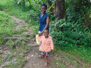 The Water Project:  Mother And Her Daughter