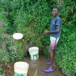 The Water Project: Buyangu Community, Mukhola Spring -  Rasel Musoka