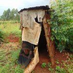 The Water Project: Buyangu Community, Mukhola Spring -  Latrine