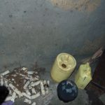 The Water Project: Buyangu Community, Mukhola Spring -  Water Containers