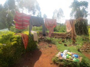 The Water Project:  Clothesline And Dishrack