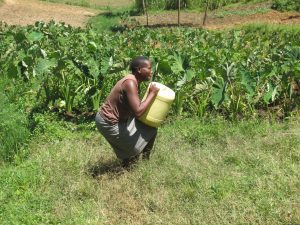 The Water Project:  Lifting Up Water Can To Take Home