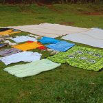 The Water Project: Masuveni Community, Masuveni Spring -  Clothes Drying