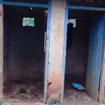 The Water Project: Masuveni Community, Masuveni Spring -  Latrines