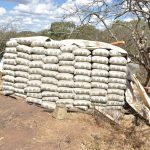 The Water Project: Kangalu Community -  Cement Bags