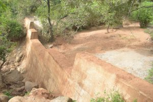 The Water Project:  Completed Dam