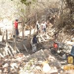 The Water Project: Kangalu Community -  Dam Construction