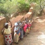 The Water Project: Kangalu Community -  Shg Members At The Sand Dam