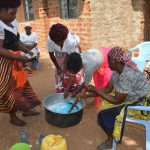 The Water Project: Kangalu Community -  Soapmaking