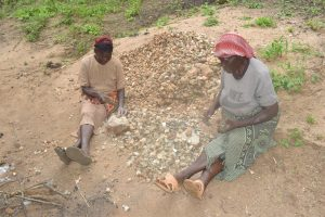 The Water Project:  Sorting Rocks
