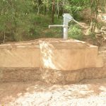 The Water Project: Kangalu Community A -  Completed Well