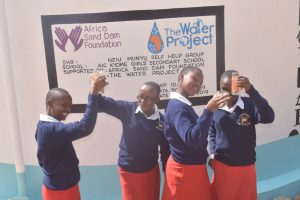 The Water Project:  Celebrating The Tank