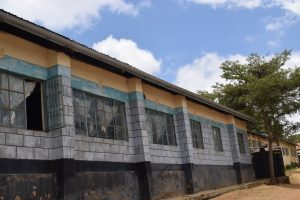 The Water Project:  Classrooms With Guttering To Collect Rainwater